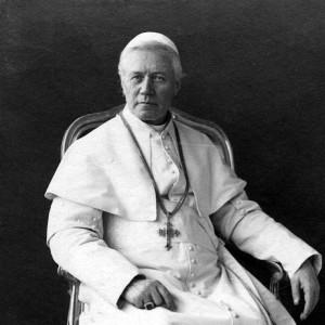Pope St. Pius X in 11905